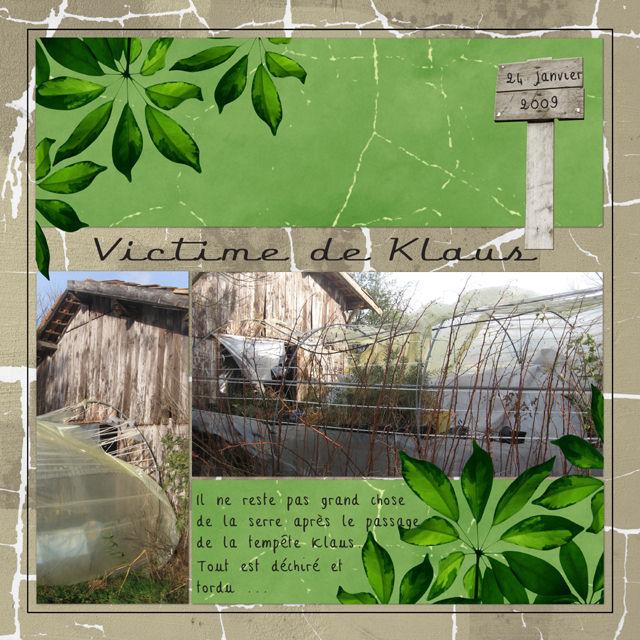 Victime de Klaus