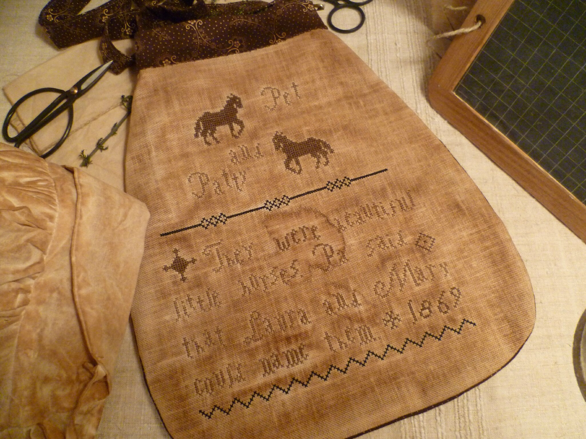 HORSES THEME: They were beautiful horses POUCH ... US $ 10.50
