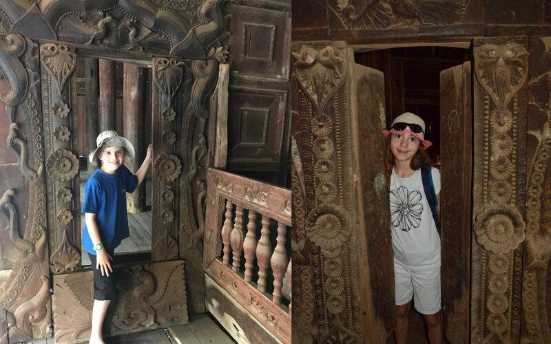 Enfants monastere teck