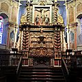 Itxassou, égliseSaint-Fructueux, autel et retable (64)