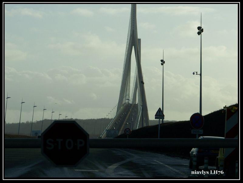 pont de Normandie par la rive droite 8
