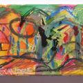 2009 Encre et peinture sur toile d'Alexandre