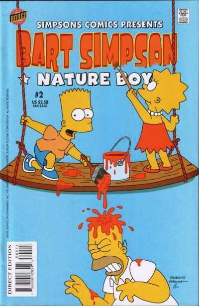 bongo bart simpson 02 nature boy