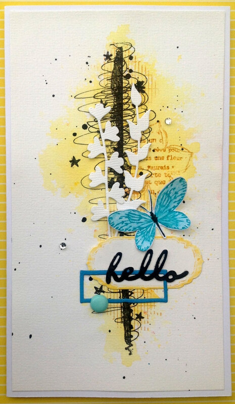 carte lift hello pap bleu jaune