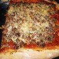 Pizza au magret
