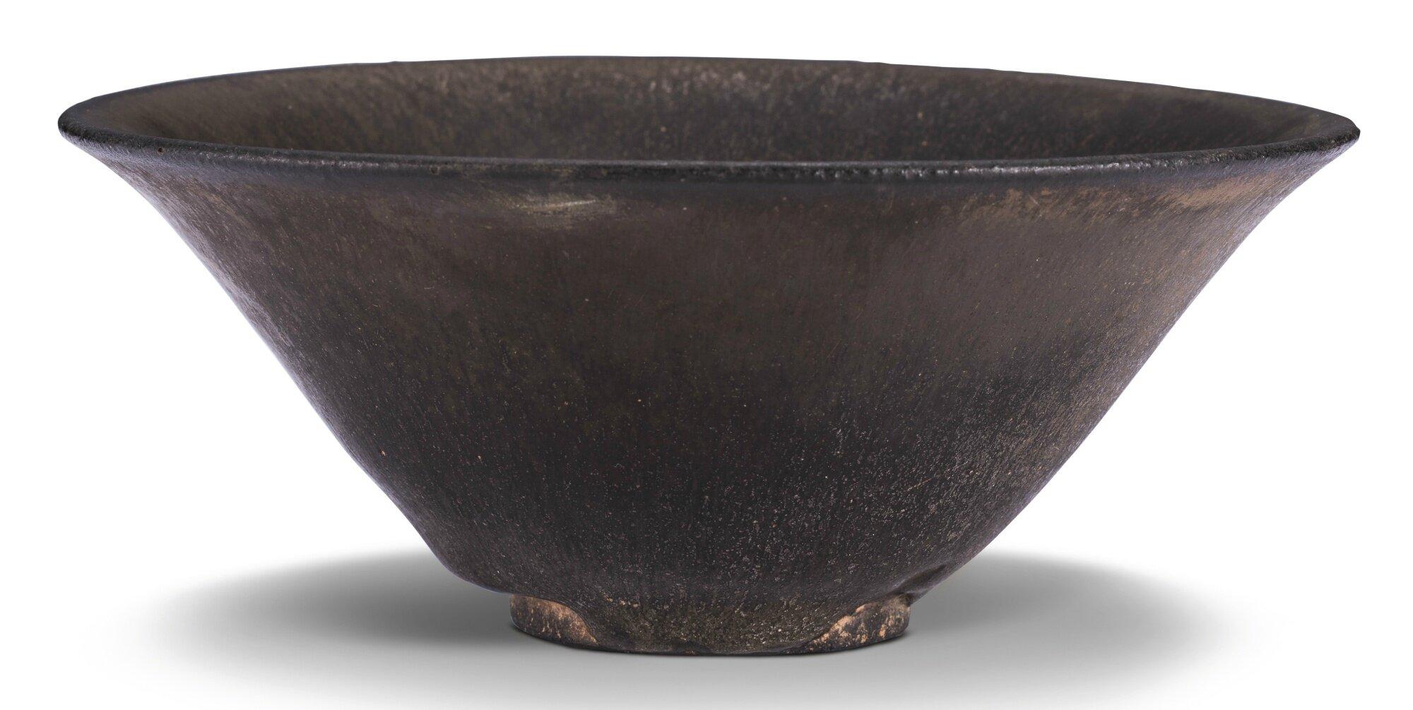 A 'Jian' dark green glazed bowl, Southern Song dynasty (1127–1279)
