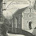 Restauration de la chapelle sainte-marie de réaumur