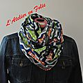 Foulard snood malaika