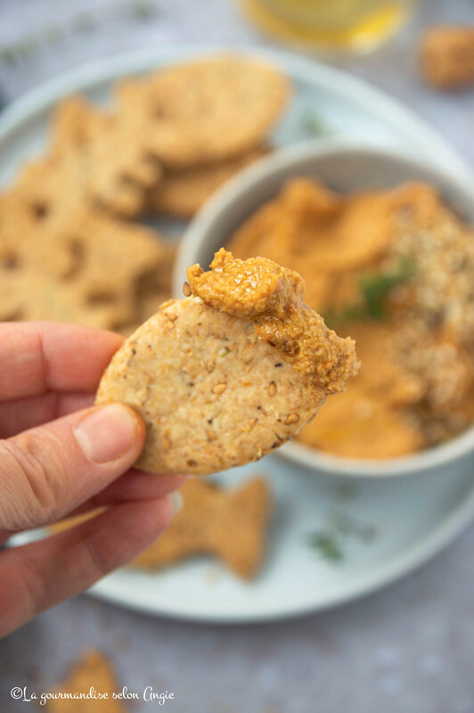 crackers vegan sans gluten algues 5