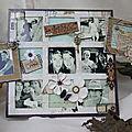 cadre vintage 7 photos , dos en lézard