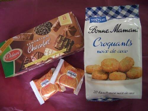 Biscuits et Chocolats... Miam