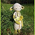 [crochet] shamrock, the little green sheep