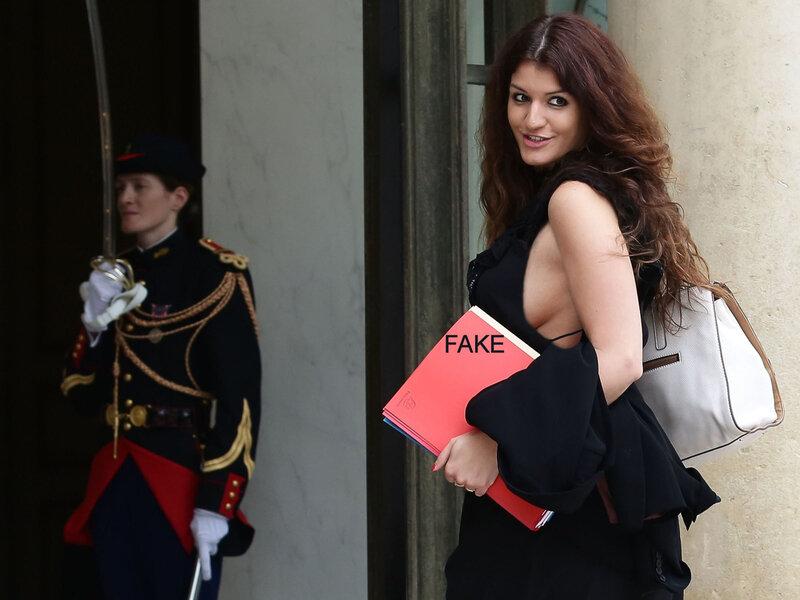 Marléne Schiappa, sexy
