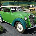 Opel olympia découvrable-1935 à 1937