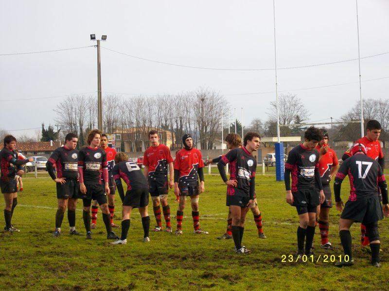 Equipe 1 contre Cestas