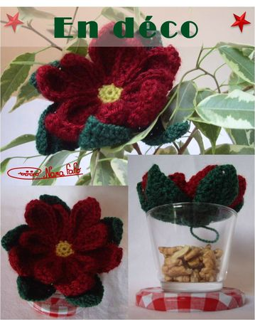 Poinsettia au crochet3