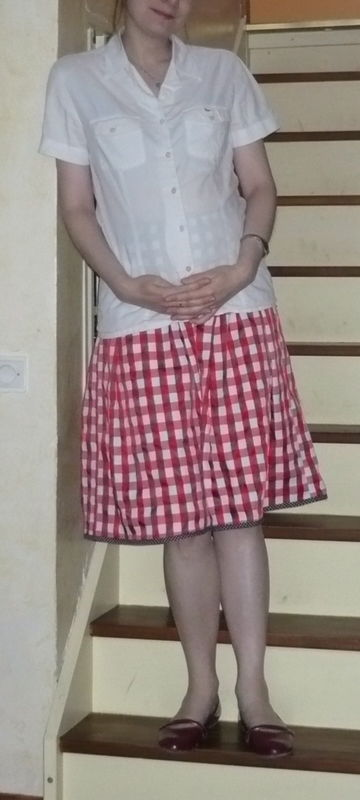 Une jupe toute simple