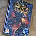 Cataclysm extension du jeu world of warcraft - ref j004