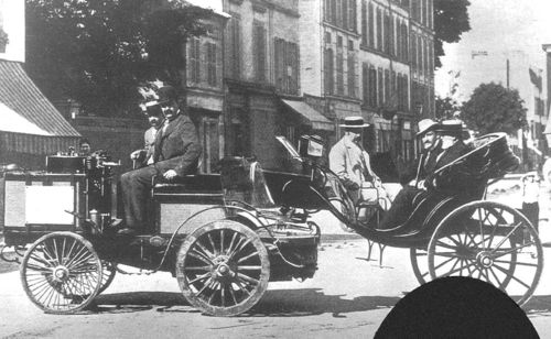 1894 paris-rouen - count albert de dion