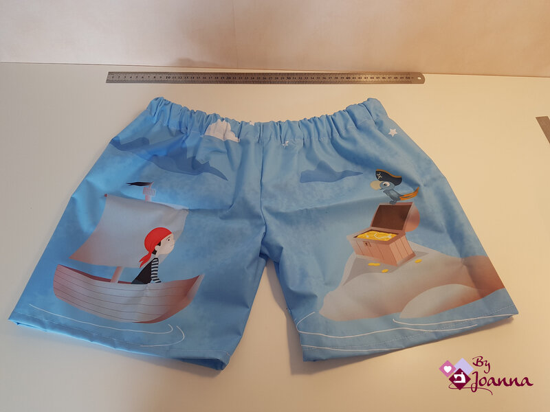 17 short pirate, By Joanna, Nidillus, coupon couture