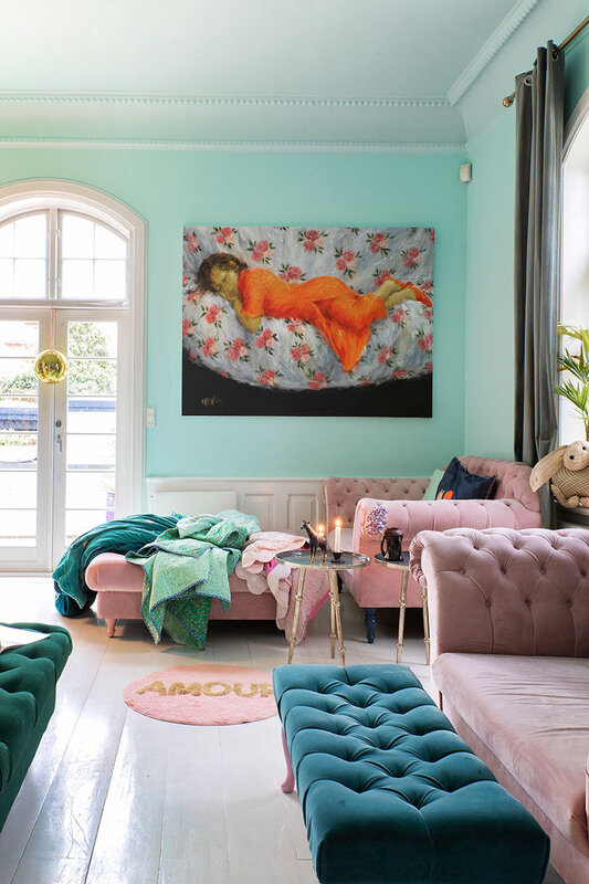 Colorful home in Sweden photos by Lisbet Spörndly (9)