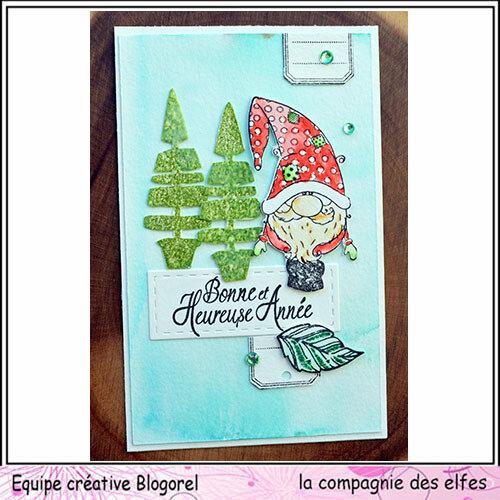 blogorel cie des elfes carte voeux 17 loreeduscrap