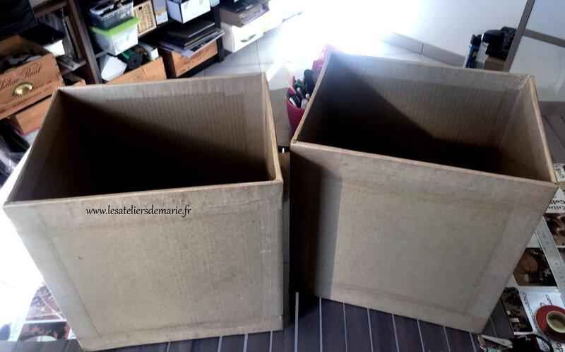 boîtes rangement papiers 30