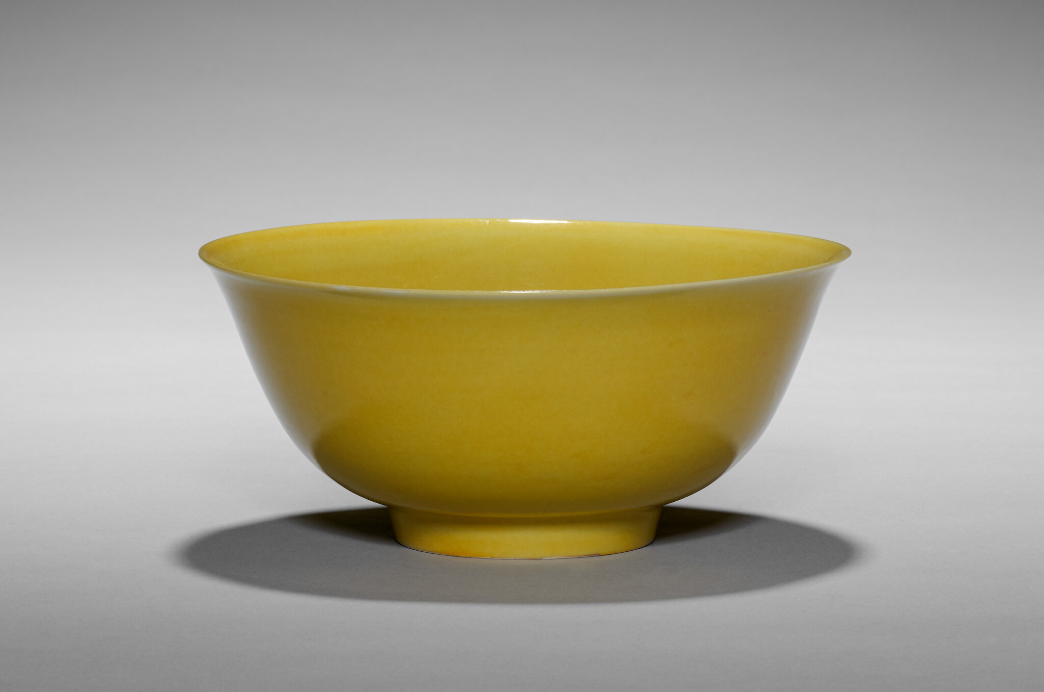 Yellow Glazed Bowl, China, Ming dynasty (1368-1644), Zhengde mark and reign (1505-21). Porcelain, 18.1 cm (7 1/8 in.), Nancy F. and Joseph P. Keithley Collection Gift 2020.180. ------WebKitFormBoundaryEllhaAAsRnxZ4ATP Content-Disposition: form-data; na