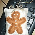 gingerbread en feutrine