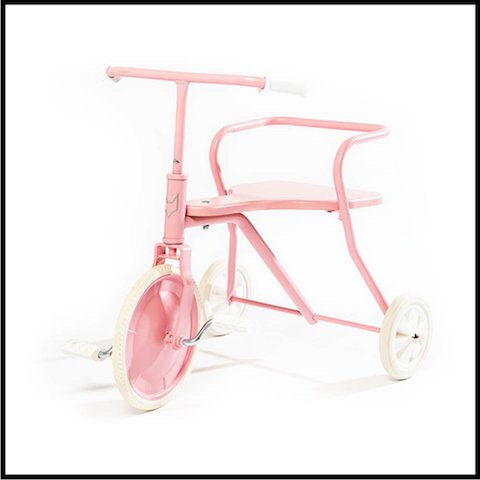smallable tricycle metal 1 rose
