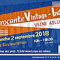 Brocante vintage / indus du 2 septembre