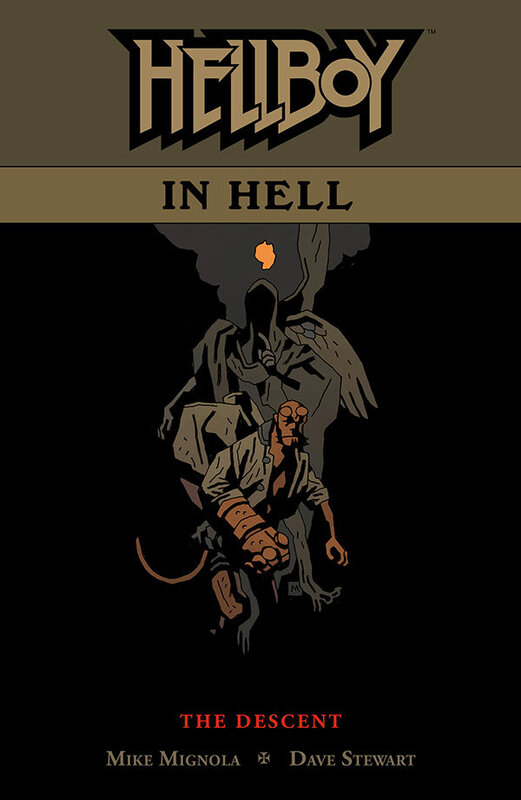 dark horse hellboy in hell vol 01 the descent TPB