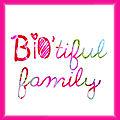 Arrêt du blog léonie et cie / création du blog bio'tiful family