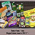 🍭🍡🍫 degustabox du mois de mars 2017 🍫🍩🍪