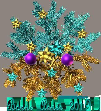 2019-carte-bonne-année-branche-sapin-bleu-et-or