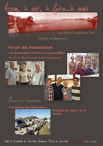 info du Week end 10 11 sept