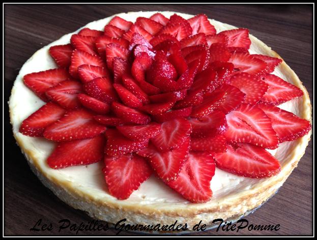 Cheesecake fraise et citron vert-1