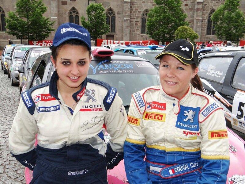 Coralie Girard (à gauche) et Clara Couval… le charme au féminin