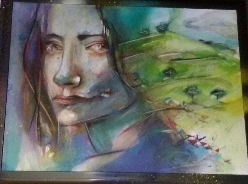 Alexis Chomel - La femme et la colline