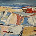 Summer time huile sur toile 65 x 81 cm
