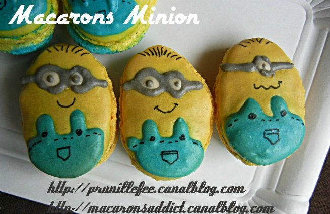 macaron minion cartoon design prunillefee