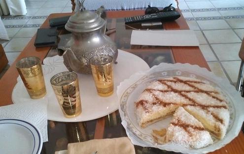 Gâteau antillais au coco ou Mont blanc antillais