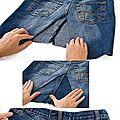 Recycler des jeans