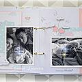 Double page d'album théa