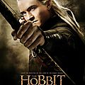 The Hobbit Desolation of Smaug Legolas poster