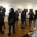 Vernissage hier de l'exposition