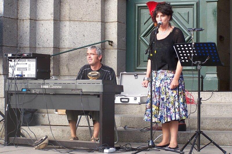 Fête de la musique Avranches place Saint-Gervais Catherine Achouri-Lepleux 2008