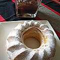 Gâteau de Savoie de Mercotte - Mousse au chocolat noir de Ph. Conticini