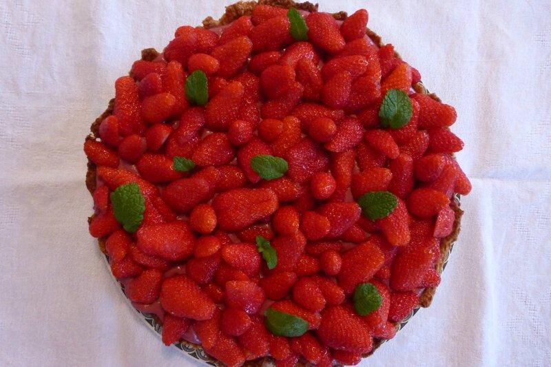 Tarte aux fraises Hugues Pouget 1