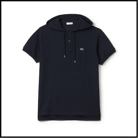lacoste polo capuche abyssal